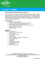 Technical Datasheet - BIO-CIRCLE L ULTRA