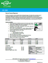Technical Datasheet - GS 200