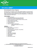 Technical Datasheet - BIO-CIRCLE AERO