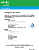 Technical Datasheet - BIO-CIRCLE L