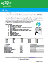 Technical Datasheet - CB 100
