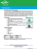 Technical Datasheet - POWERCLOTH