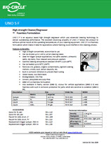 Technical Datasheet - UNO SF