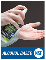 Alcohol Liquid Hand Sanitizer