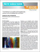 Technical Bulletin - Stainless Steel Passivation