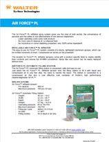 Technical Datasheet - Air Force PL