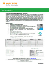 Technical Datasheet - CB 100 ALU