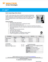 Technical Datasheet - FT 200