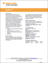 Technical Datasheet - ALUCUT