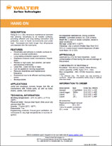 Technical Datasheet - HANG ON