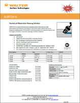 Technical Datasheet - SURFOX-G