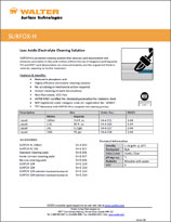Technical Datasheet - SURFOX-H