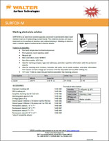 Technical Datasheet - SURFOX-M