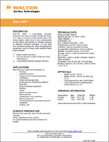 Technical Datasheet - ZINC 100