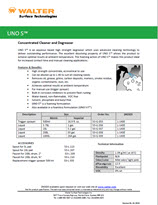 Technical Datasheet - UNO S