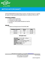 Technical Datasheet - ADITIVO ANTIESPUMANTE