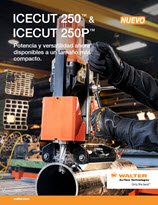 Hojas de productos - Icecut 250 and Icecut 250P