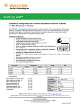 Technical Datasheet - ALUSTAR 200