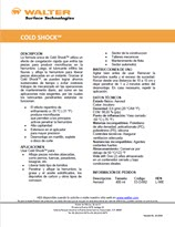 Technical Datasheet - COLD SHOCK