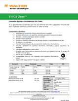 Technical Datasheet - E-NOX CLEAN