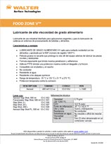 Technical Datasheet - FOOD ZONE V